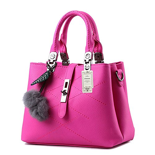 ZUNIYAMAMA, Borsa a mano donna M Rose Red