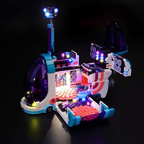 LIGHTAILING Conjunto de Luces (Lego Película 2 Fiestabús Pop-Up) Modelo de Construcción de Bloques - Kit de luz LED Compatible con Lego 70828 (NO Incluido en el Modelo)