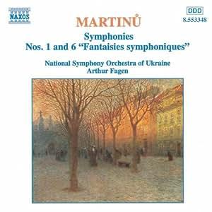 Martinu Sinfonien 1 und 6 Fagen