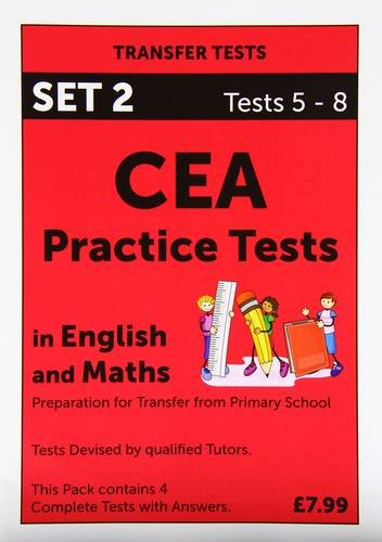 CEA Practice Tests in English and Maths: Tests 5 - 8 Pack 2