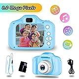 Geschenk für 4-6 Jahre Mädchen Jungs YORKOO Kinder Kamera HD 1080P Digitalkamera für Kinder Silikon Fotoapparat...