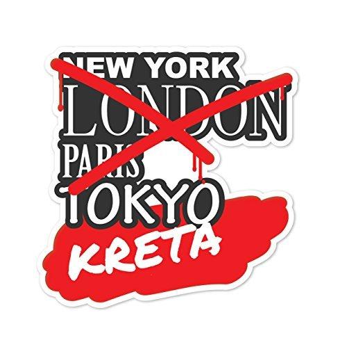 Preisvergleich Produktbild JOllify Aufkleber - KRETA – Farbe: Design: Graffiti Streetart New York
