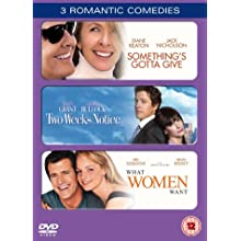 Something's Gotta Give/Two Weeks Notice/What Women Want [DVD] [2001]