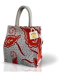 JuteLunch Bag/Women Hand Bag/Shoulder Bag