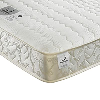 Happy Beds Membound Micro Quilted Bonnell Spring Memory Foam Mattress - inexpensive UK light shop.