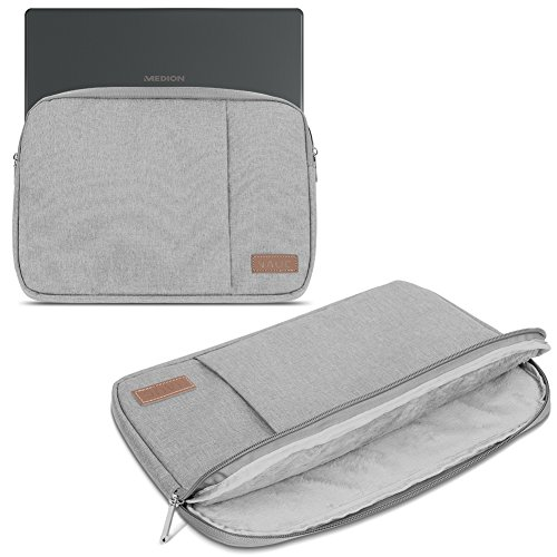 Notebook Hülle für Medion Akoya E2228T Tasche Grau Schutzhülle Tablet Cover Case