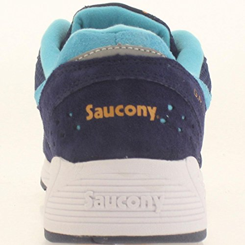 Saucony Originals Herren Grid 8000 Cl Sneaker Blue-Light blue