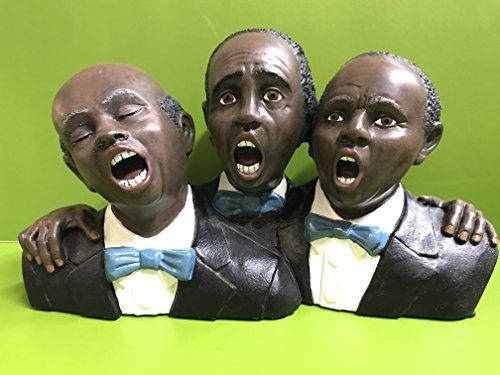Enesco Jazz Sänger Trio Büste 25 cm x 15 cm (Jazz-büste)
