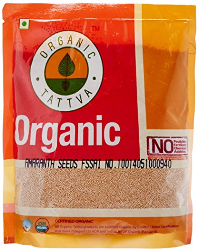 Organic Tattva amaranth Seeds, 500g  available at amazon for Rs.95