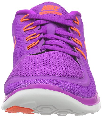 Nike Wmns Free 5.0, Chaussures de Running Entrainement Femme Violet (Mehrfarbig)