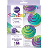 Wilton Color Swirl 3-Color Coupler Decorating Set-,  Other,  Multicoloured