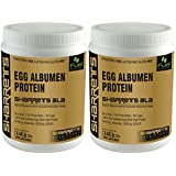 [Sponsored]SHARRETS NON GMO EGG WHITE (ALBUMEN) PROTEIN - UNFLAVORED 2 X 0.441lb [ Sports Supplements , Energy Drink ]