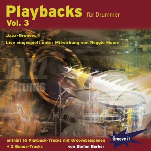 Playbacks für Drummer Vol. 3 - Jazz Grooves 1