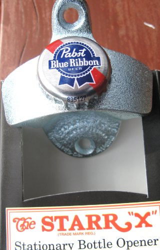 starr-x-bottle-opener-with-pabst-blue-ribbon-cap-by-pabst