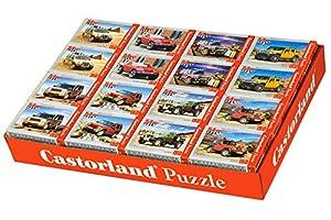 Castorland A-08521-M Puzzle Puzzle - Rompecabezas (Puzzle Rompecabezas, Vehículos, Niños y Adultos, Niño/niña, 5 año(s), 165 mm)