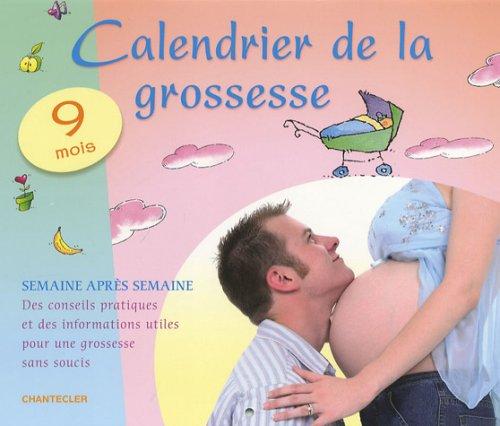 Calendrier de la grossesse
