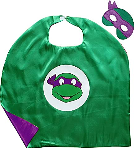 Ninja Tortue Robes - Ninja Turtles Donatello Cape et le Masque
