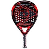 Dunlop Pulsar Sport Ultra Padel Racquet, Black/Red, One Size