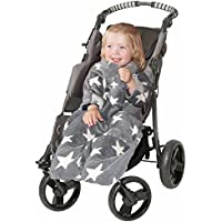 POP ON Baby Toddler Blanket With Sleeves In Soft Cuddle Fleece For Buggy Pushchair Car