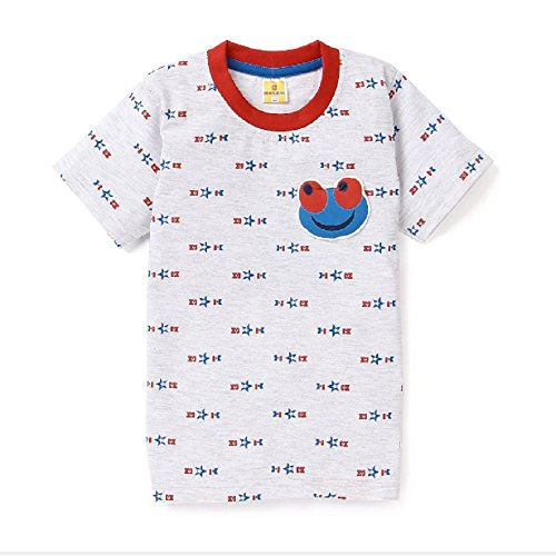 Born Wear Half Sleeve Cotton T-shirt For Boys - Milange