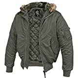 MA-1 Jacke Hooded anthrazit - XXL