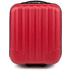 WITTCHEN Equipaje de mano, Maleta, Rojo, 42x32x25 cm, 25 Litro, Dimensión: Pequeña, XS, ABS -V25-10-232-35
