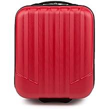 WITTCHEN Equipaje de Mano, Maleta, Rojo, 42x32x25 cm, 25 Litro, Dimensión