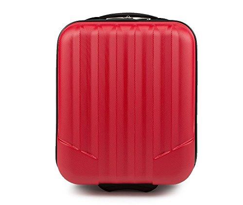 WITTCHEN Trolley Bagaglio a mano - Valigia rigida | Colore: Rosso | Materiale: ABS | Dimensioni: 25x42x32 | Peso: 2 kg | Capacità: 25 L | 2 ruote - 56-3A-281-60