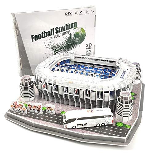 TriPro 3D Puzzle Santiago Bernabeu Fußballstadion DIY Modell Set (Real Madrid)