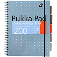 pukka pads 6970-MET - Pukka Pad A4 Executive Project Book Ruled 200 Page 6970-MET - (PK3)