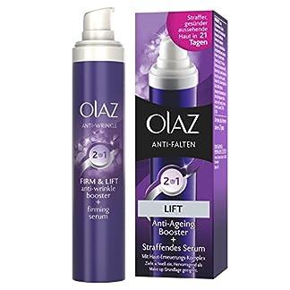 Olaz Antiarrugas – Crema de Día 2 en 1 acción anti-envejecimiento y serum reafirmante, 30ml
