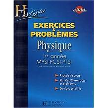 Physique 1ère année MPSI-PCSI-PTSI : Exercices & problèmes