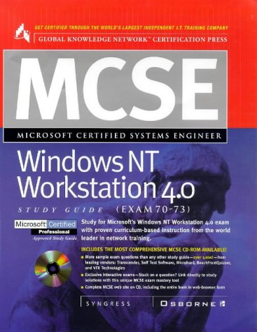 MCSE Windows NT Workstation 4.0 (Exam 70-73) (Certification) por Syngress Media  Inc.