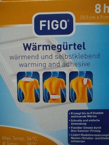 Figo Wärmegürtel wärmend und selbstklebend, 28,5x9cm, 1 Stück