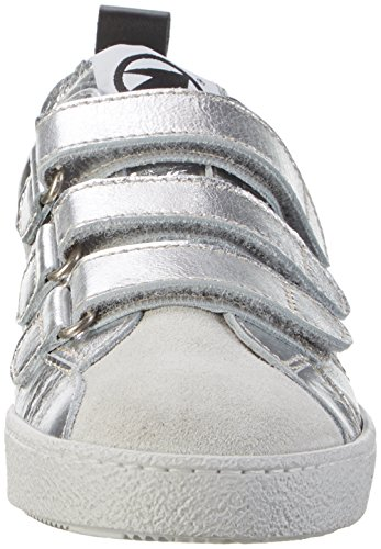 Momino 3455ns, chaussons d'intérieur mixte enfant Silber (OFF White)