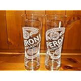 Peroni 0.3 Litre Glasses (2 Glasses)