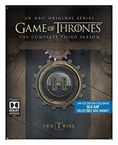 Game of Thrones - Season 3  (Limited Edition Steelbook) [Blu-ray] [Region Free]