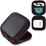 AirPods caso, 6amLifestyle portátil con cremallera duro protector auricular auriculares caja bolsa para Apple AirPods