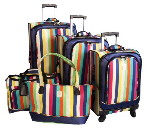 jenni-chan-360-quattro-5-piece-luggage-set-multi-stripes-one-size