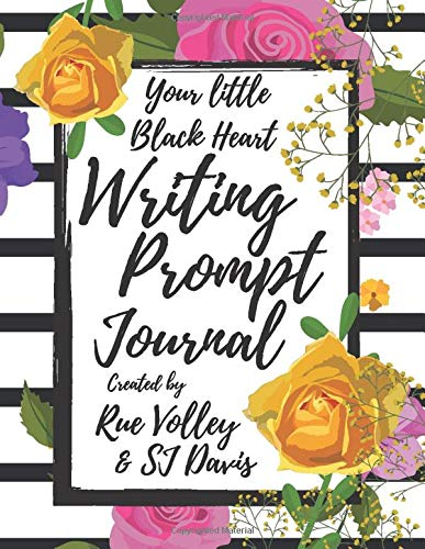 Your little Black Heart Writing Prompt Journal