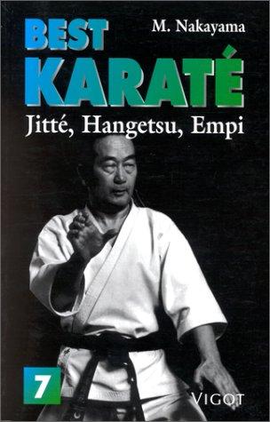 Best karaté, numéro 7. Jitte hangetsu par Nakayama