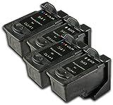 The Ink Squid 2Sets (4Patronen) von PG-540/CL-541XL kompatibel kein Tintenpatronen ersetzt (PG-540/CL-541) für die Canon Pixma MG2150MG2250MG3150MG3155MG3250mg3350MG3550mg3650MG4150MG4250MX375MX395MX435MX455MX475MX515MX525MX535Drucker