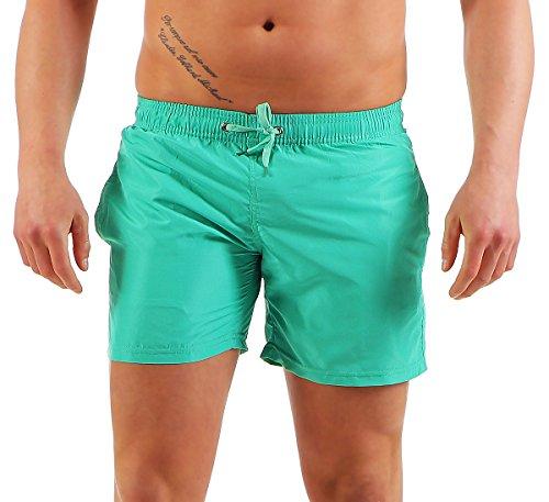 AE -  Pantaloncini - Uomo verde menta