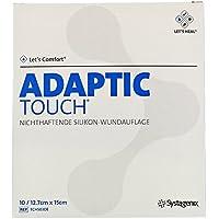 Adaptic Touch 12,7x15 cm Nichthaftende Silikon-Wundauflage, preisvergleich bei billige-tabletten.eu