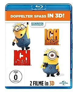 Ich - Einfach unverbesserlich 1&2 [Blu-ray 3D]