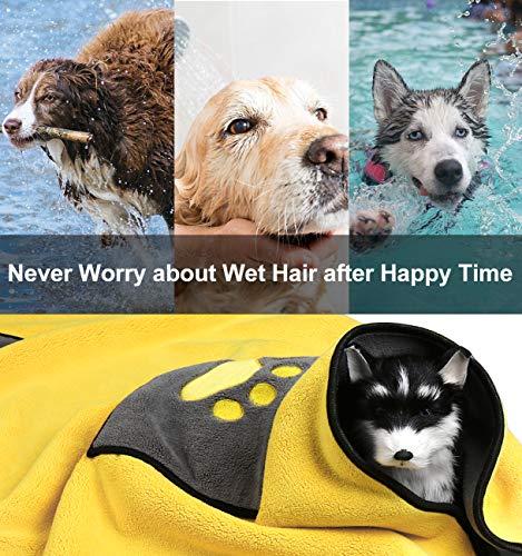 Zoom IMG-3 zellar asciugamano per animali accappatoio