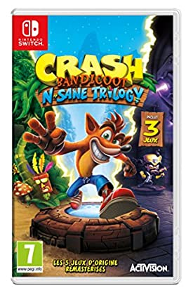 Crash Bandicoot N.Sane Trilogy - Nintendo Switc...
