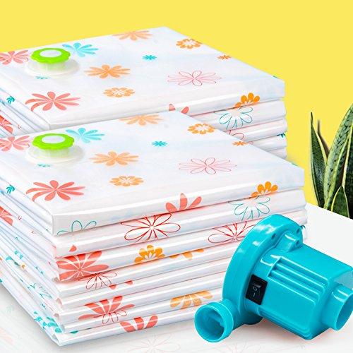 Vakuum-Platzsparer Vakuum - Tasche, Größe 3 - 3 Kleine Größe 2, Decken, Kleidung Und Taschen Zu Pumpen.