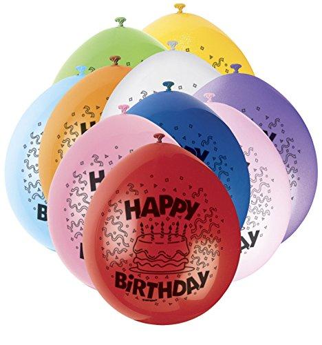 Unique Happy Birthday Ballons–nur zum Füllen mit Luft (Party Kostüme Zum Verkauf)