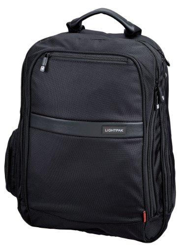 Preisvergleich Produktbild Lightpak 46103 - Laptop Rucksack Executive Line ECHO 1 aus Nylon, schwarz